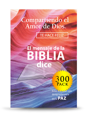 Compartiendo el Amor de Dios (300 Book Envelope Set) - For every donation of $250, UPMI will send you and a prisoner or ex-offender of Compartiendo el Amor de Dios (300 Book Envelope Set).