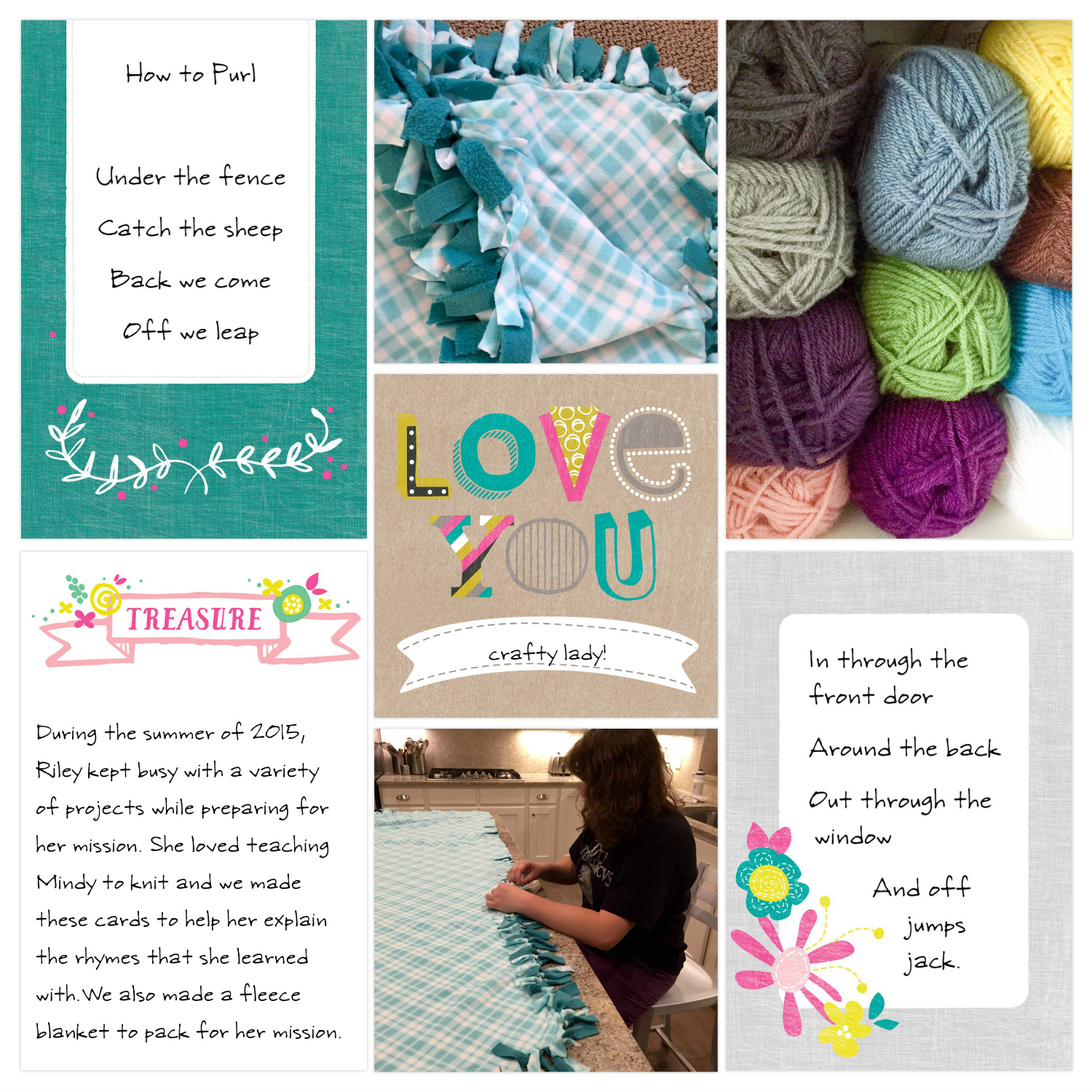 Layout by Katie Nelson using the Playful Edition and Design L in the Project Life App.