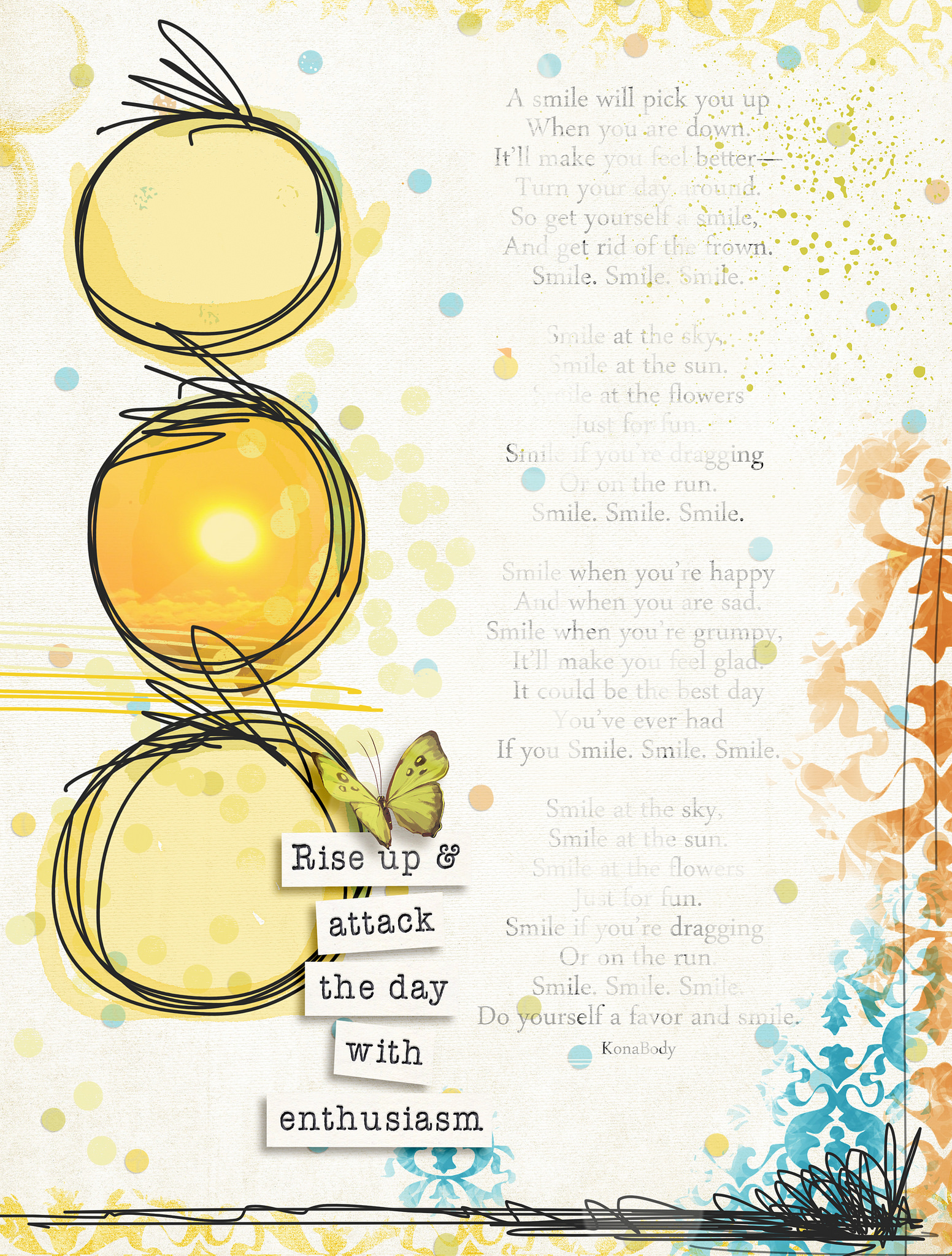 I created this page a few years ago using the It's Your Day kit by  Chunlin Designs.