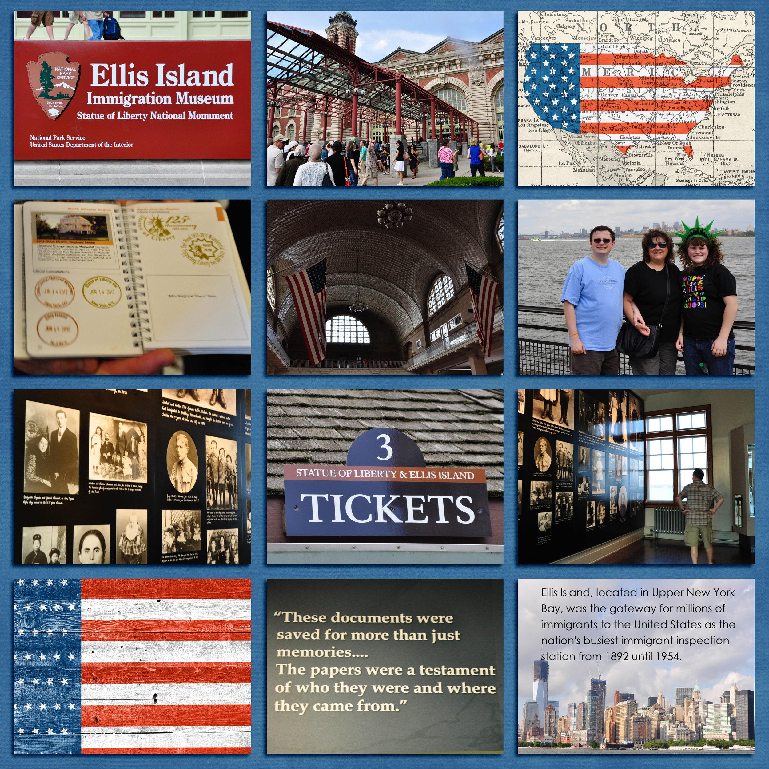 Ellis Island, New York City 2012