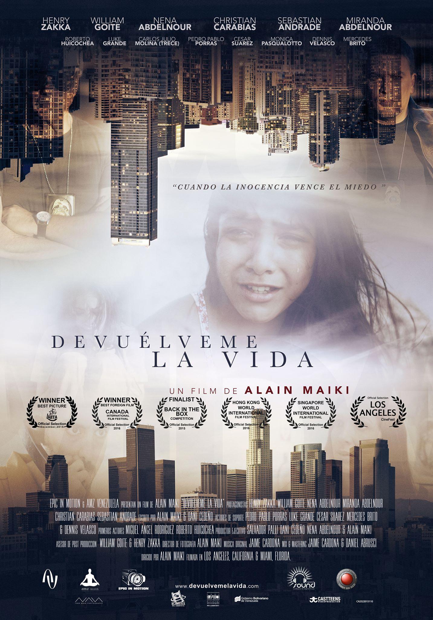 Devuelveme La Vida - Official Poster