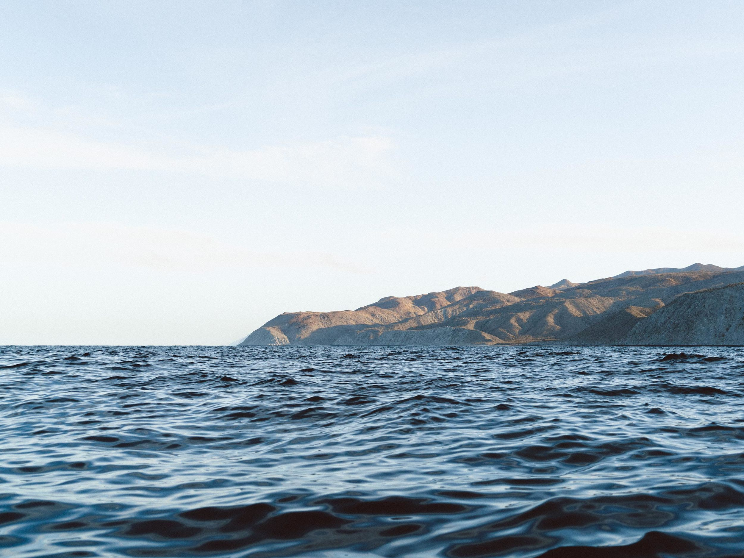 Rugged coastline, 0 humans, and endless fishable water.