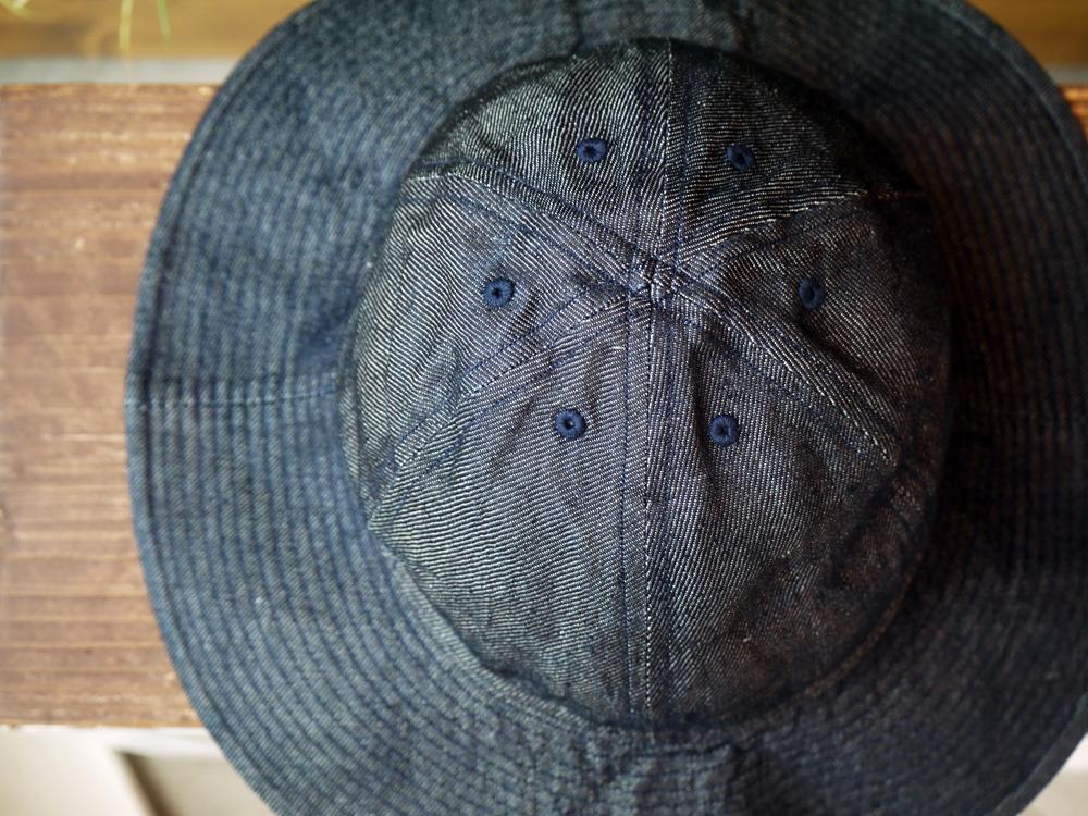 COMESANDGOES LINEN DENIM BALLON HAT