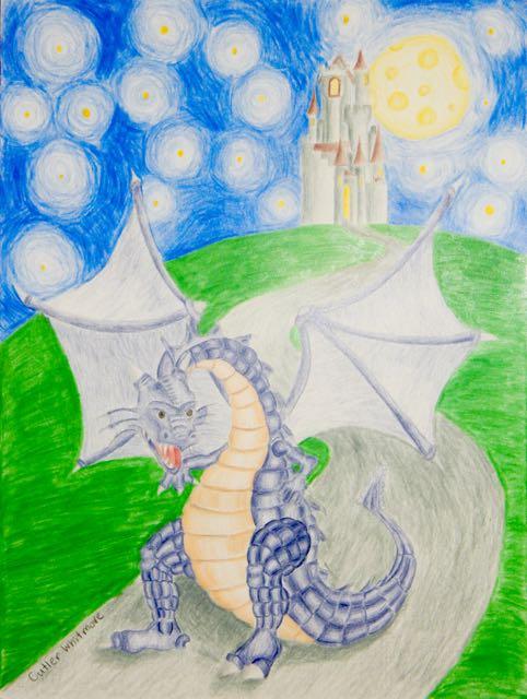 CutlerWhitmore,13yrs.Dragon.coloredpencils.6/15