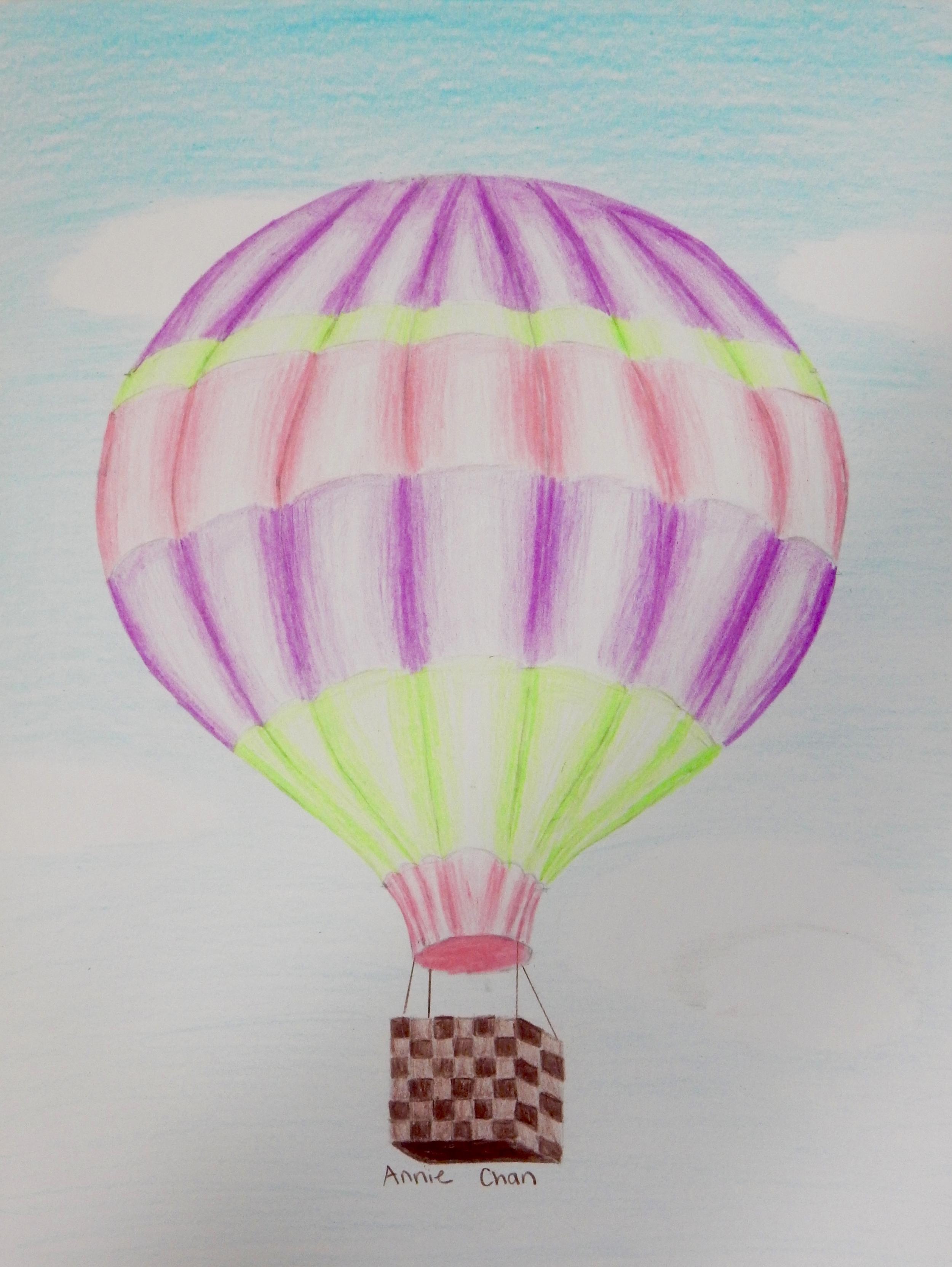 AnnieChan.10yrs.HotAirBalloon.coloredpencils