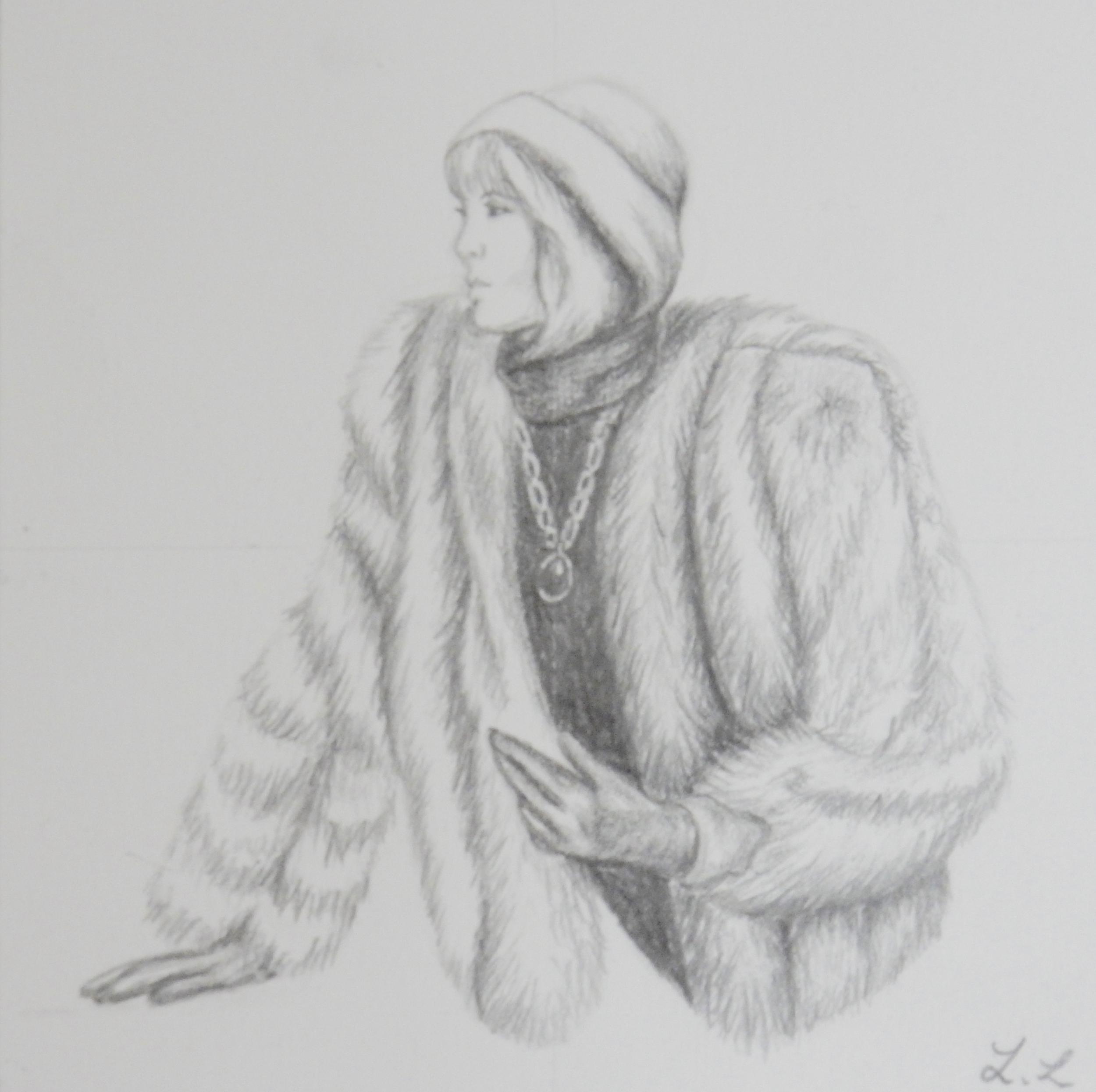 Lydia Lee.16yrs.pencil