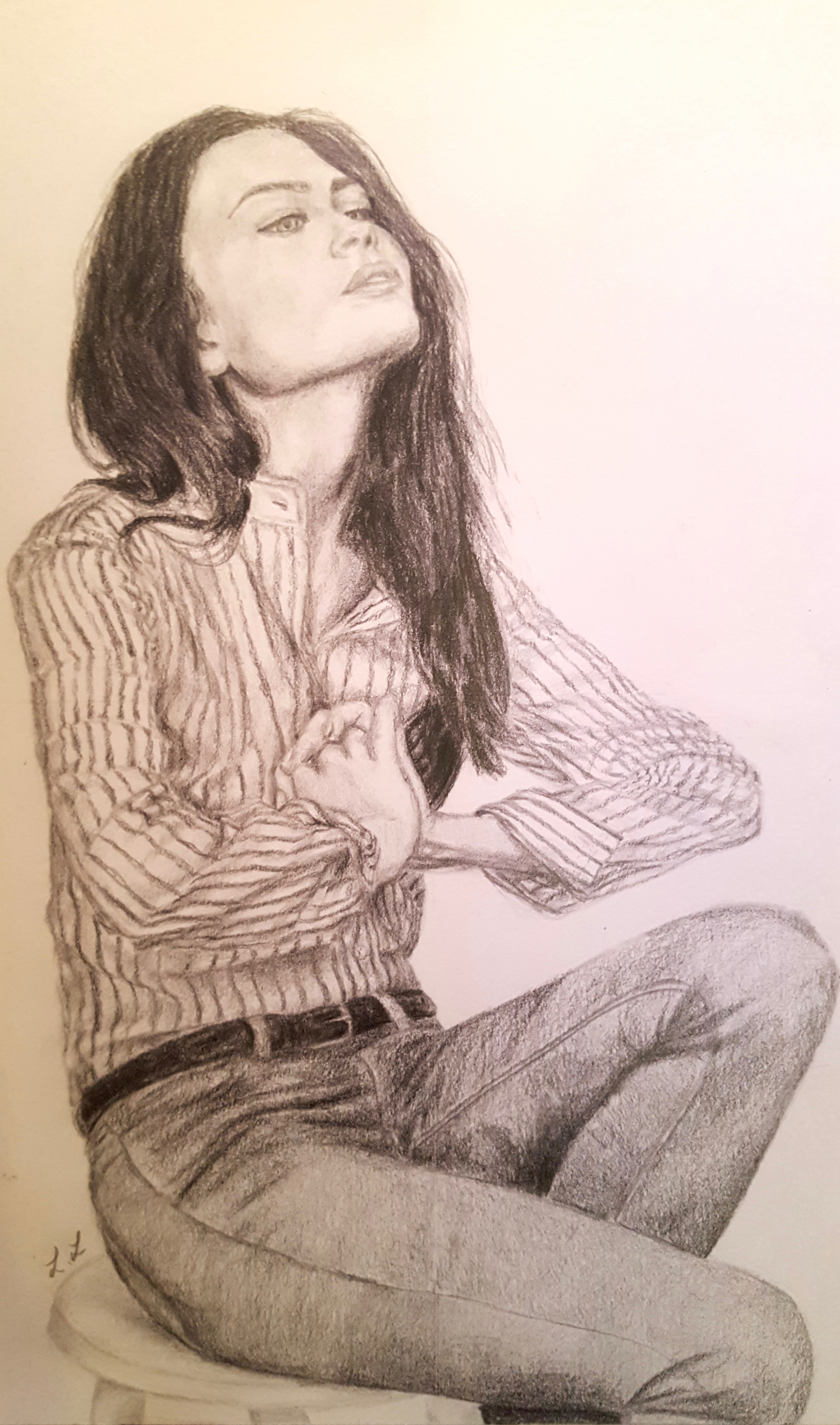 Lydia Lee.18yrs.pencil