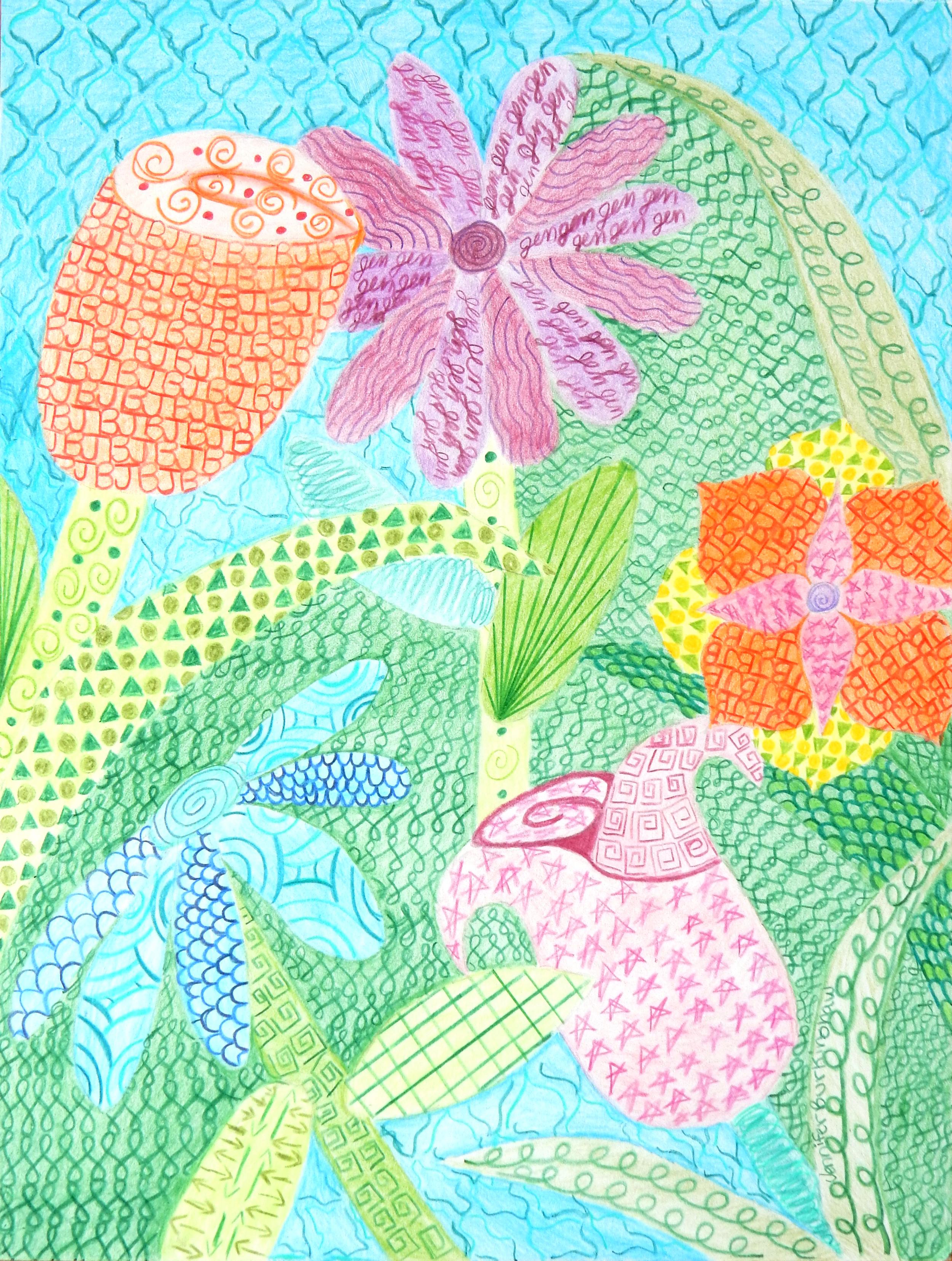 Jennifer Burkinshaw.15yrs.colored pencil