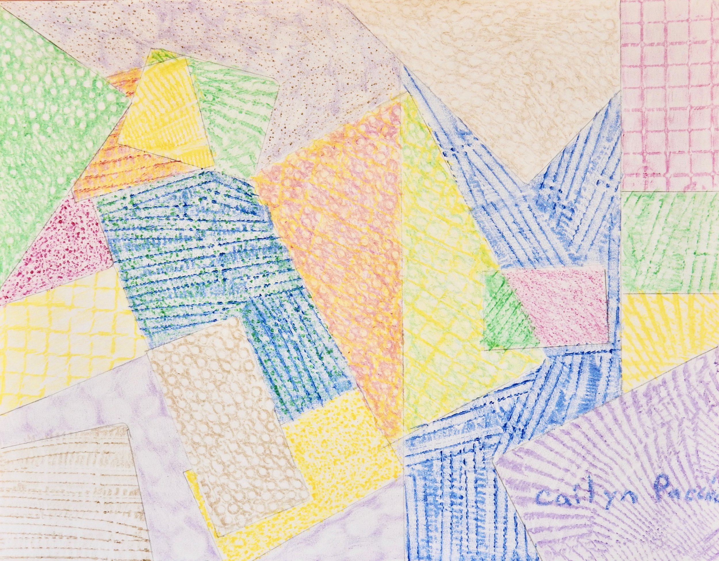 Cailyn Paccico.11yrs.crayon rubbing