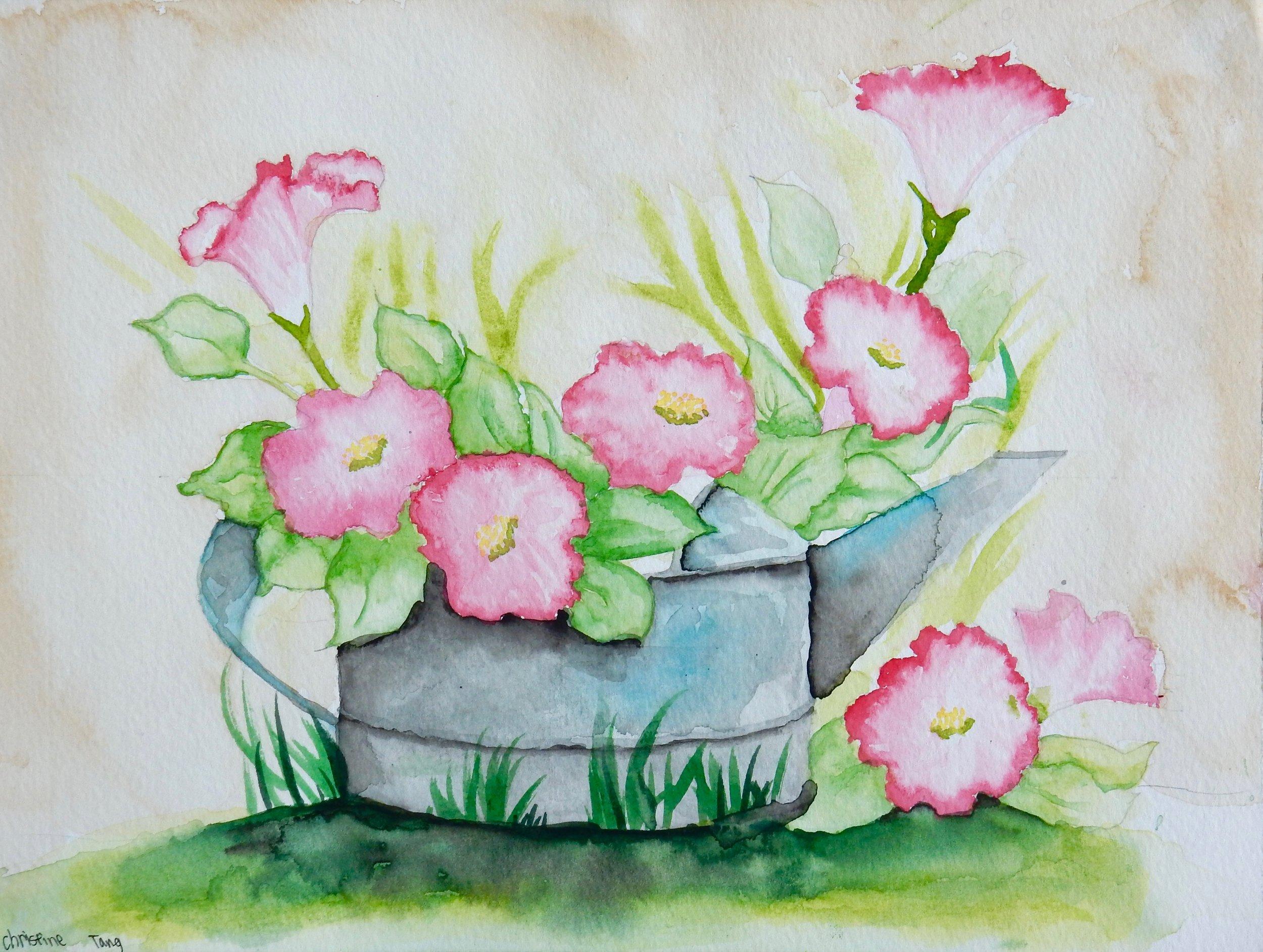 Christine Tang.10yrs.watercolor