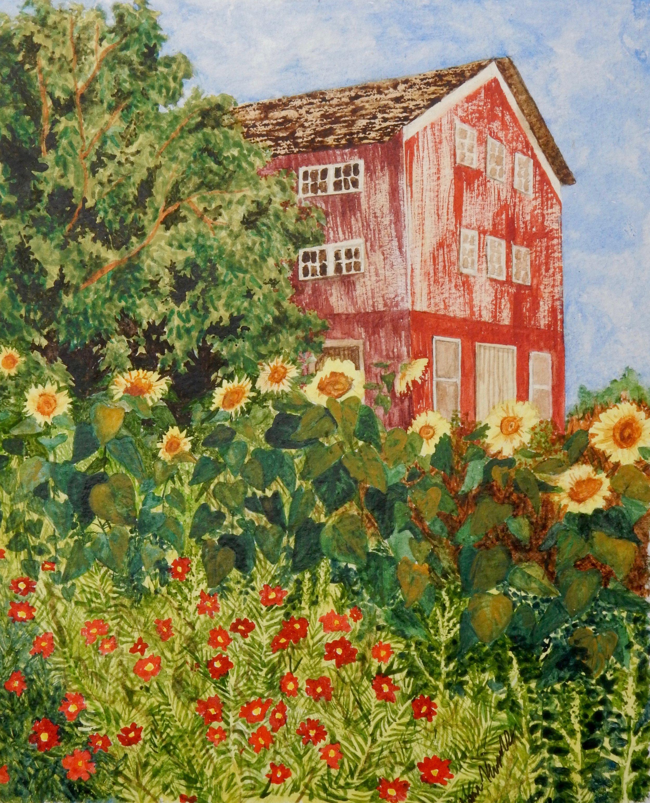 Victoria Koshivas.12th.watercolor