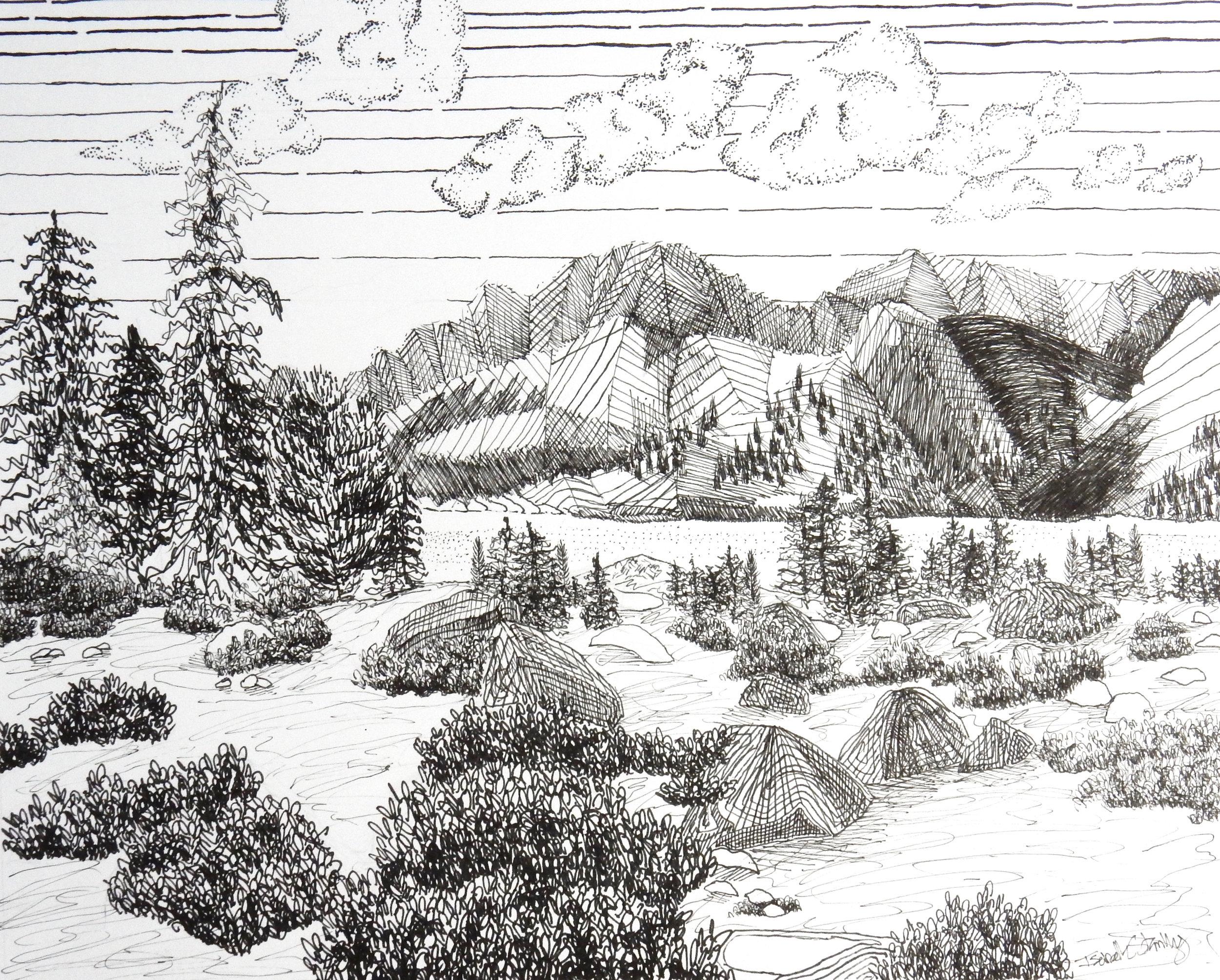 Isabelle Stanley.pen & ink