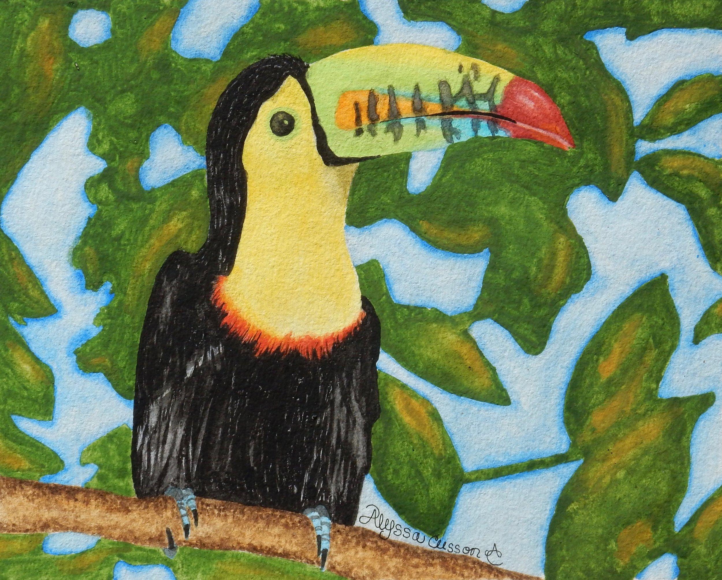 Alyssa Cusson.14yrs.watercolor