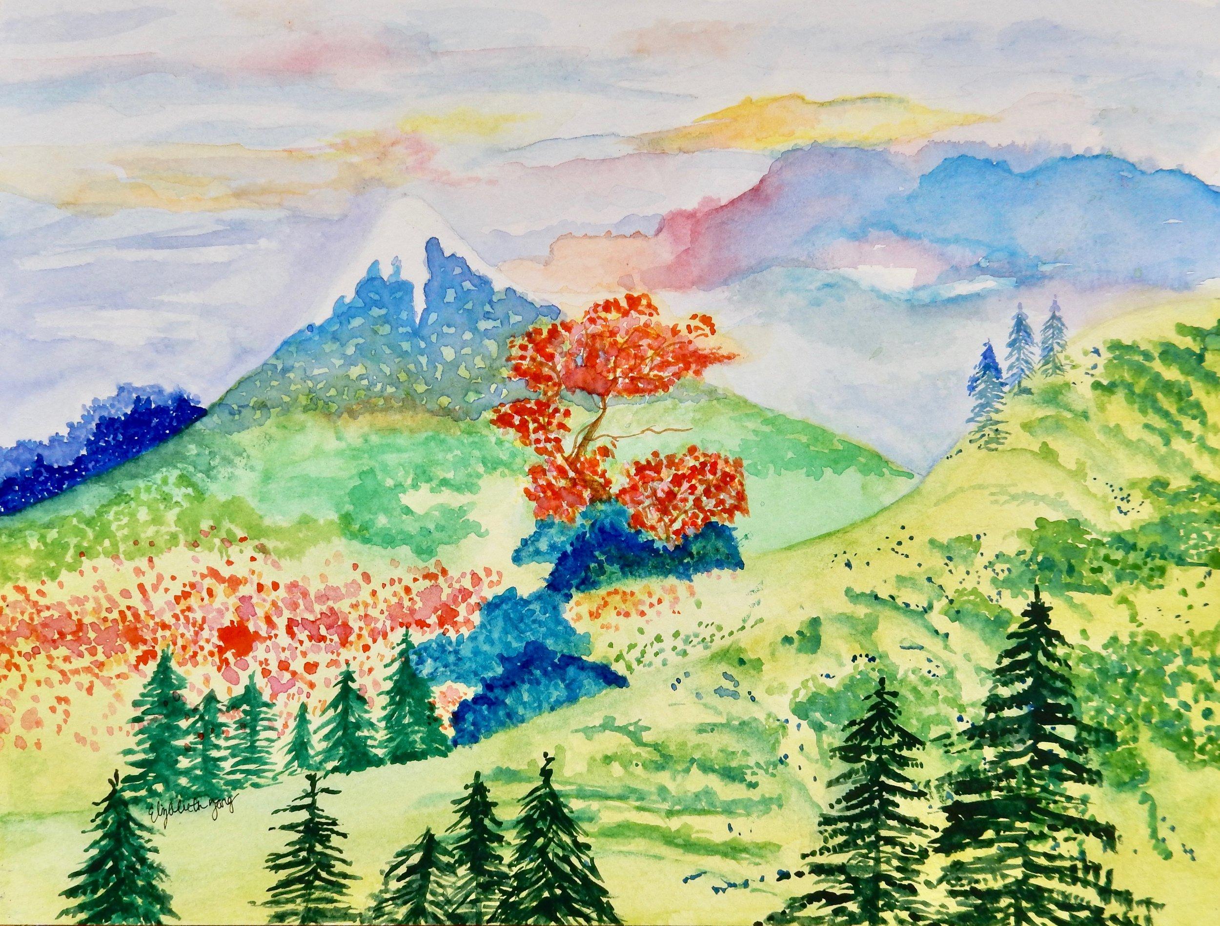 Elizabeth Tang.8th grade.watercolor