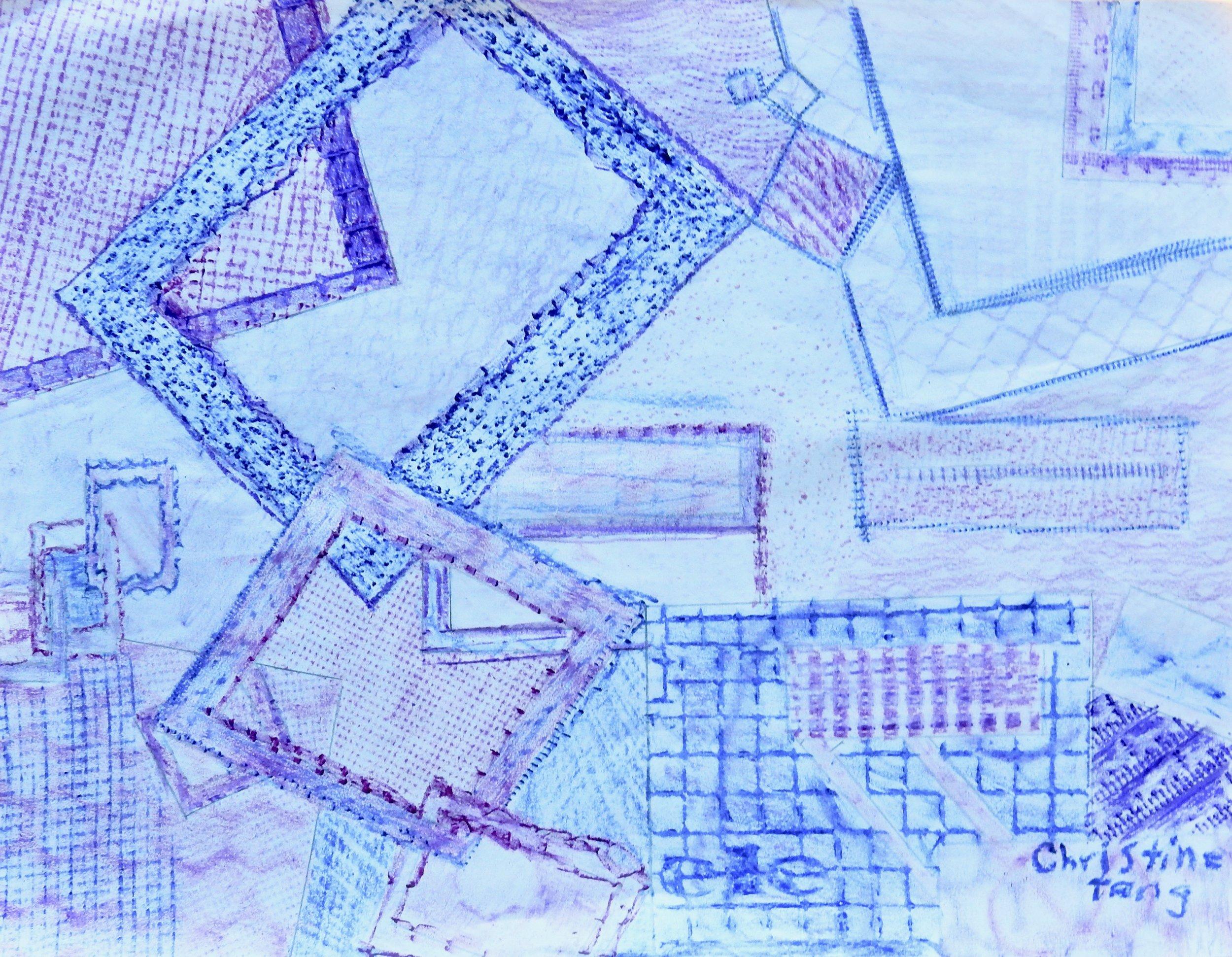 Christine Tang.11 yrs.crayon
