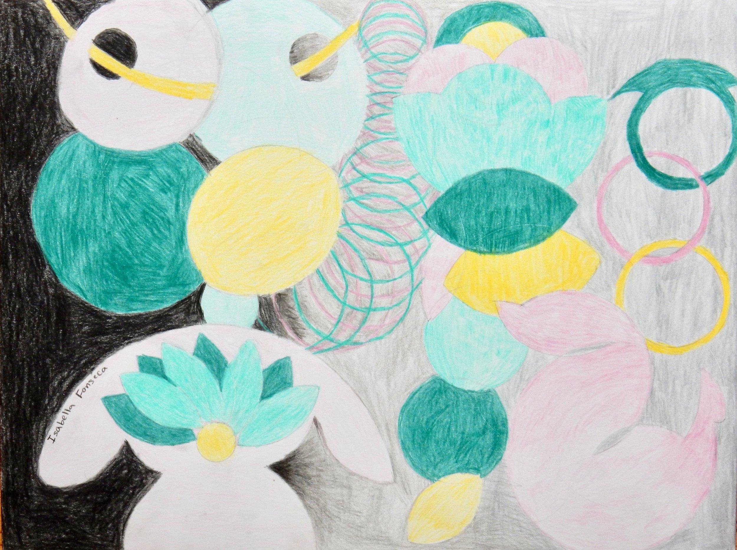 Isabella Fonseca.11 yrs.colored pencil