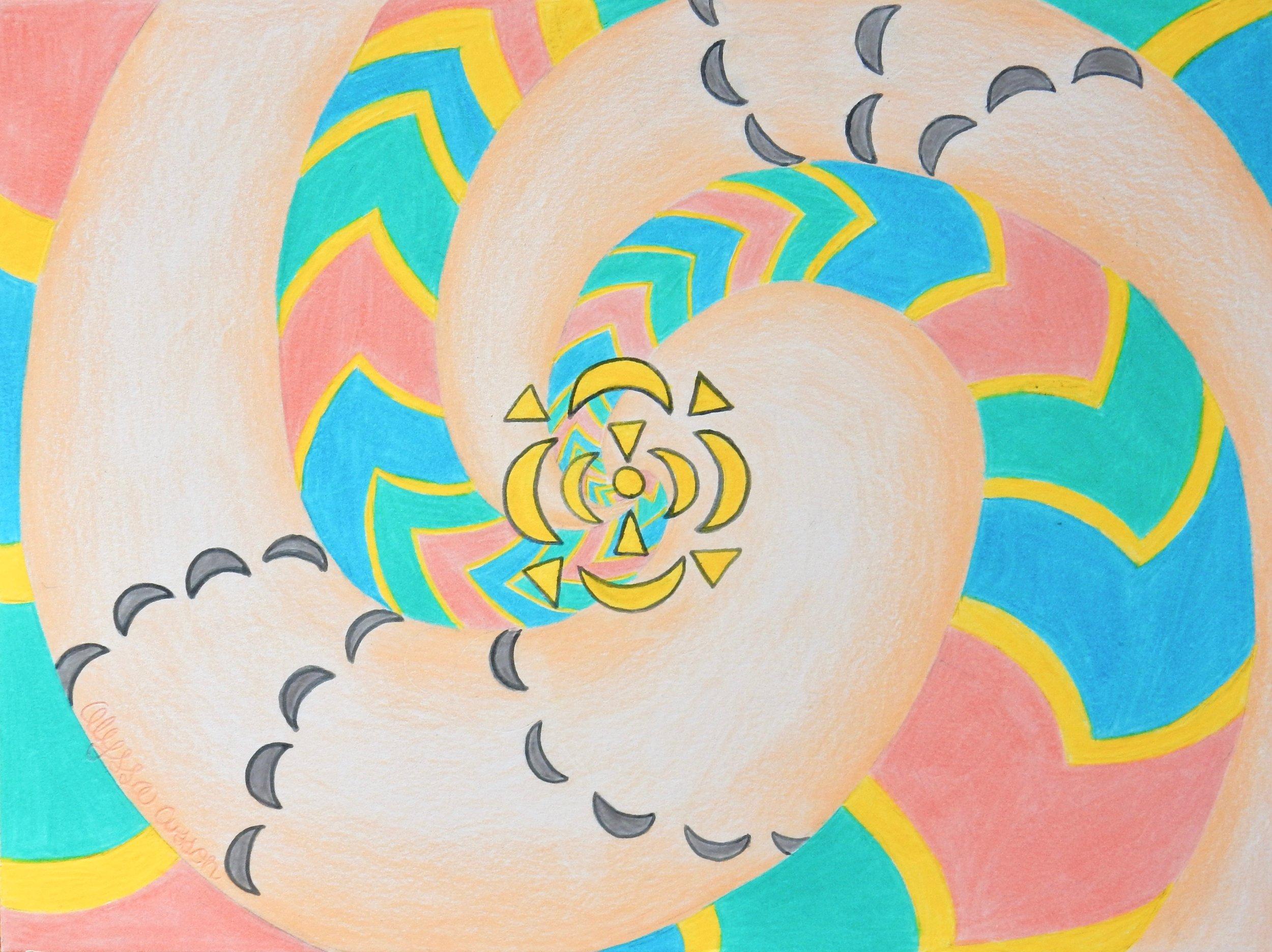 Alyssa Cusson.15 yrs.colored pencil