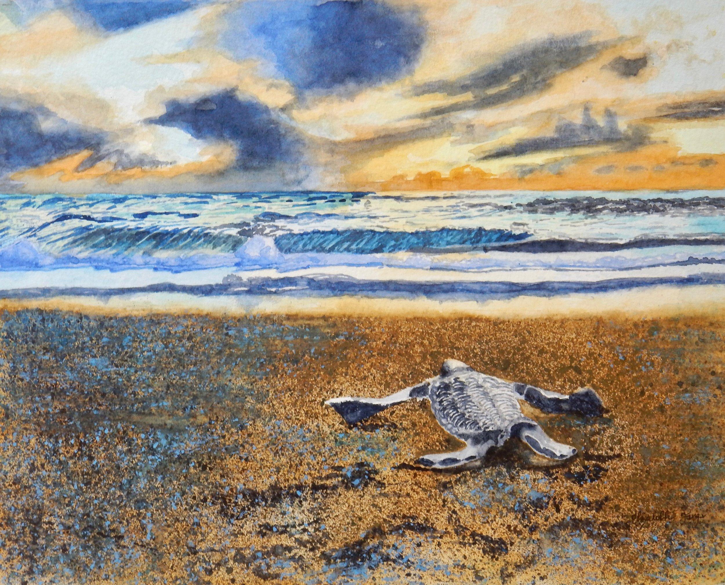 Elizabeth Tang.13 yrs.watercolor
