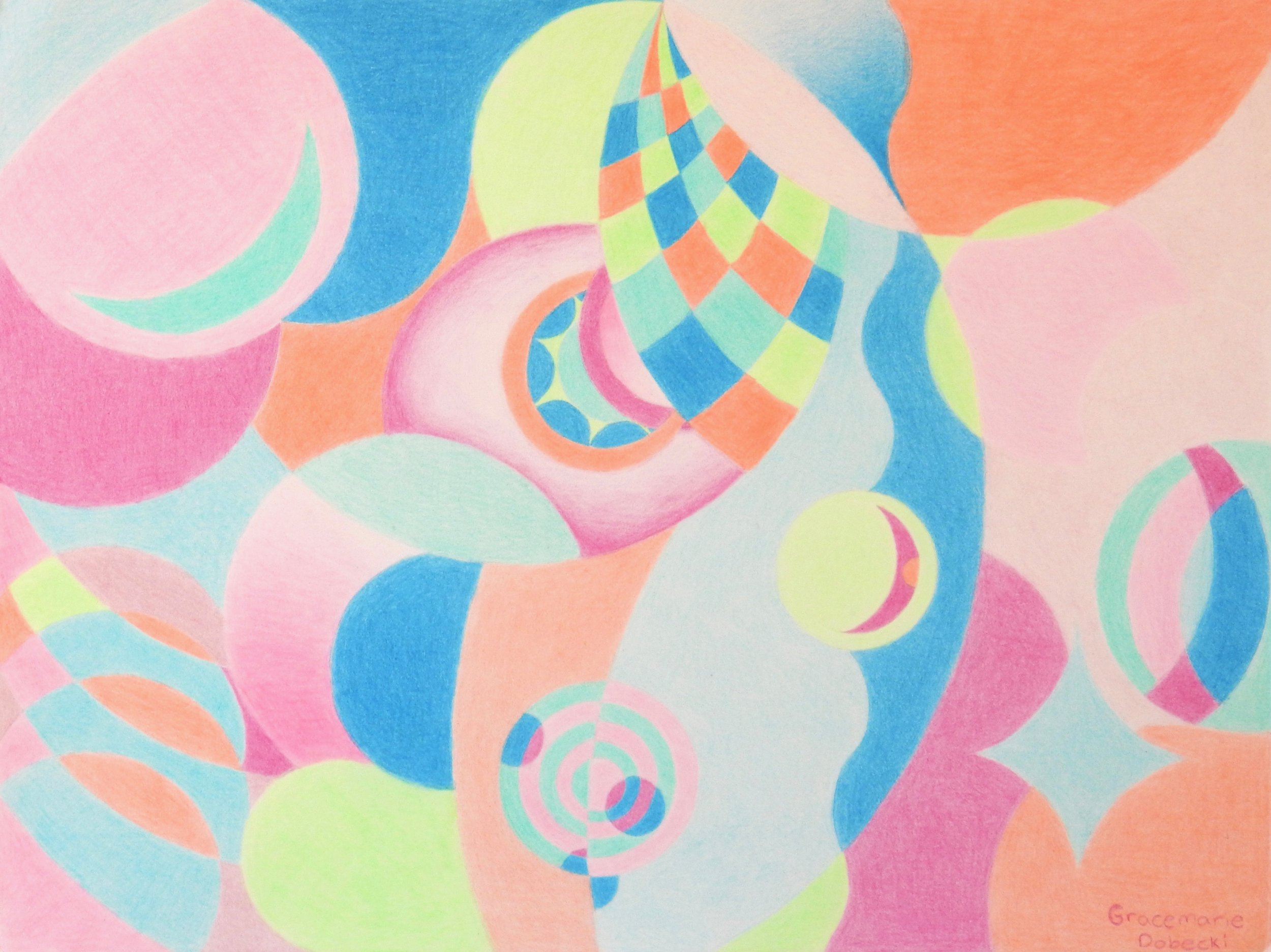 Gracemarie Dobecki.12 yrs.colored pencil