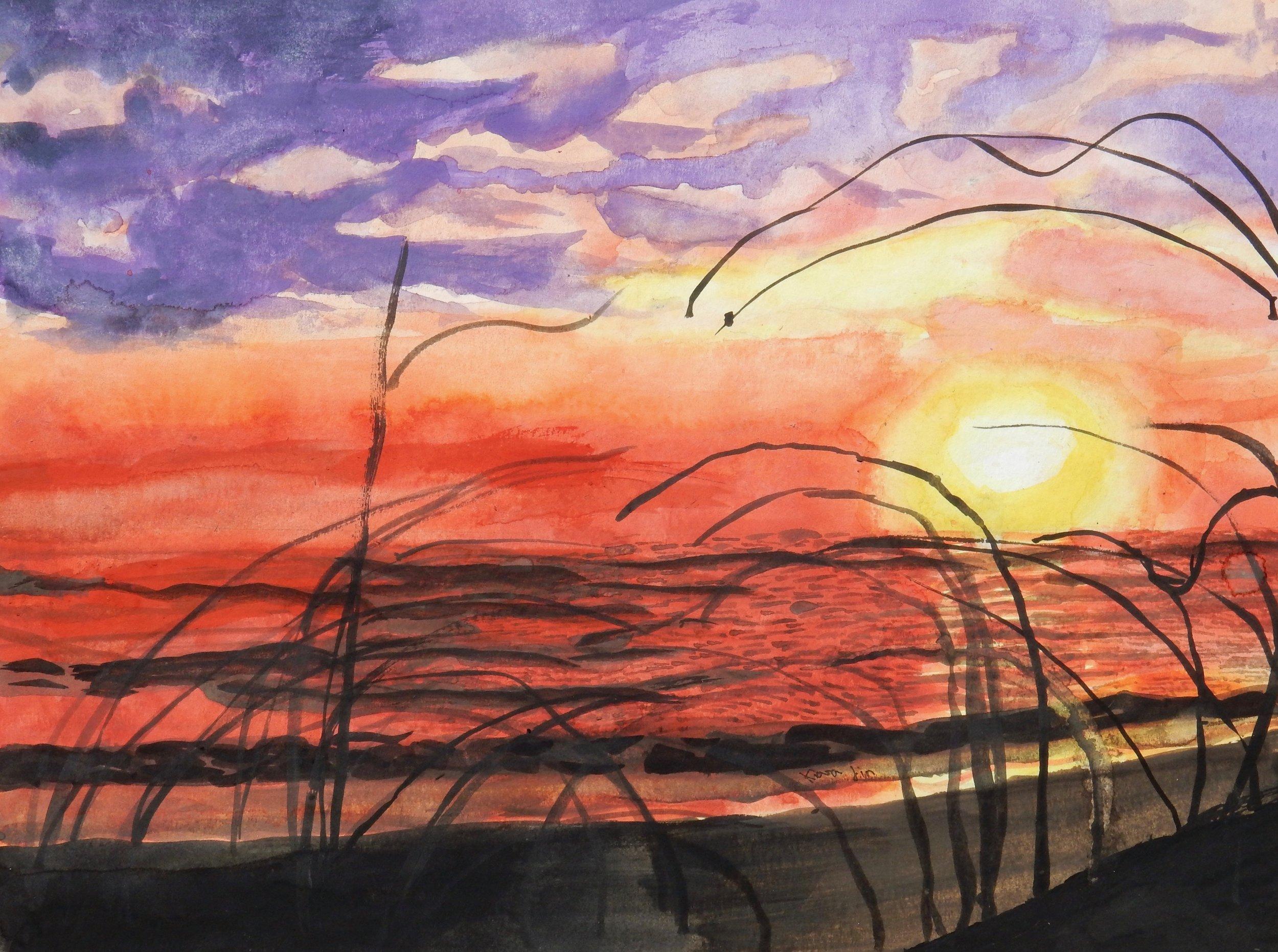 Kiara Jin.10 yrs.watercolor