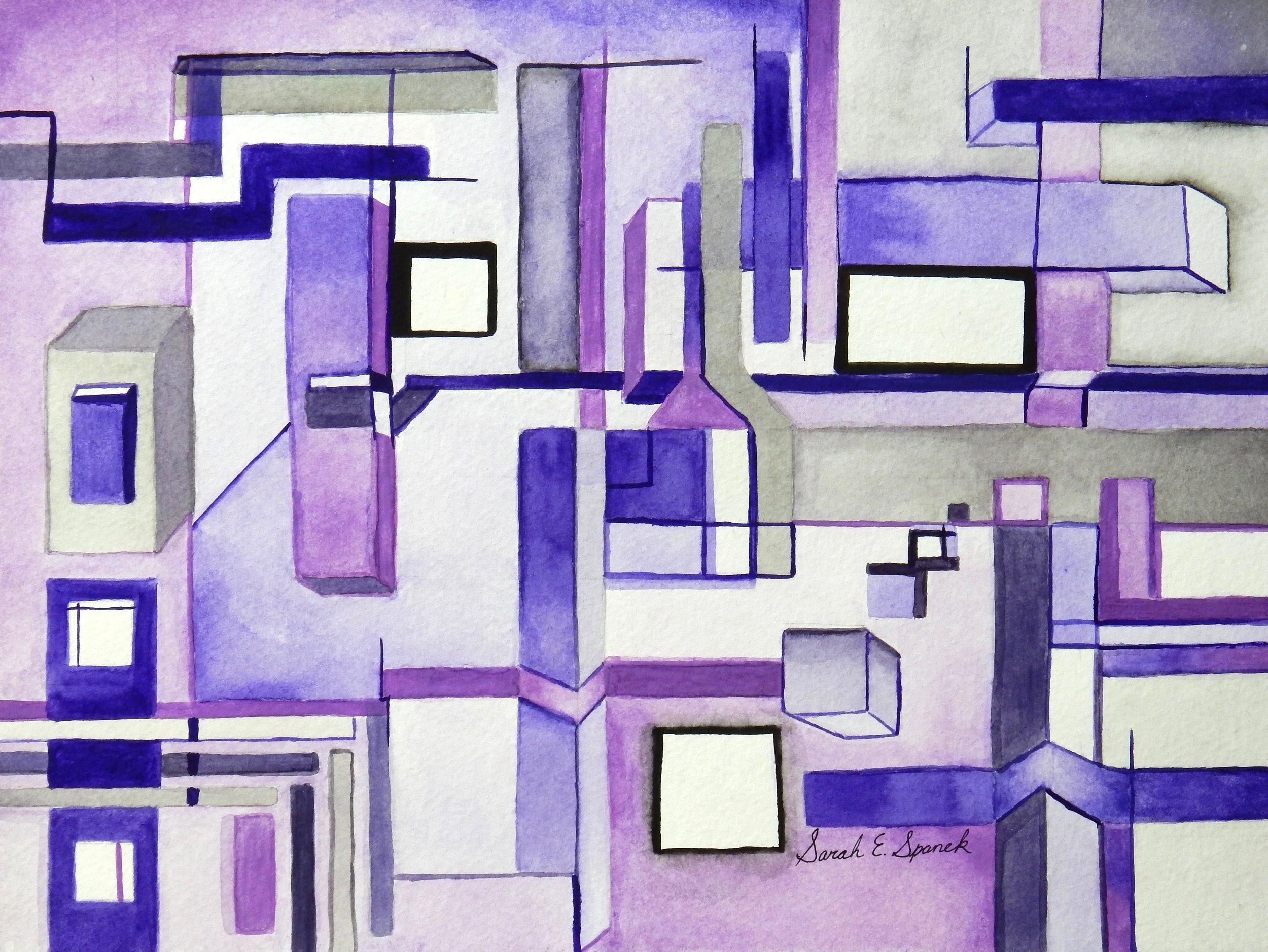 Sarah Spanek.17 yrs.watercolor