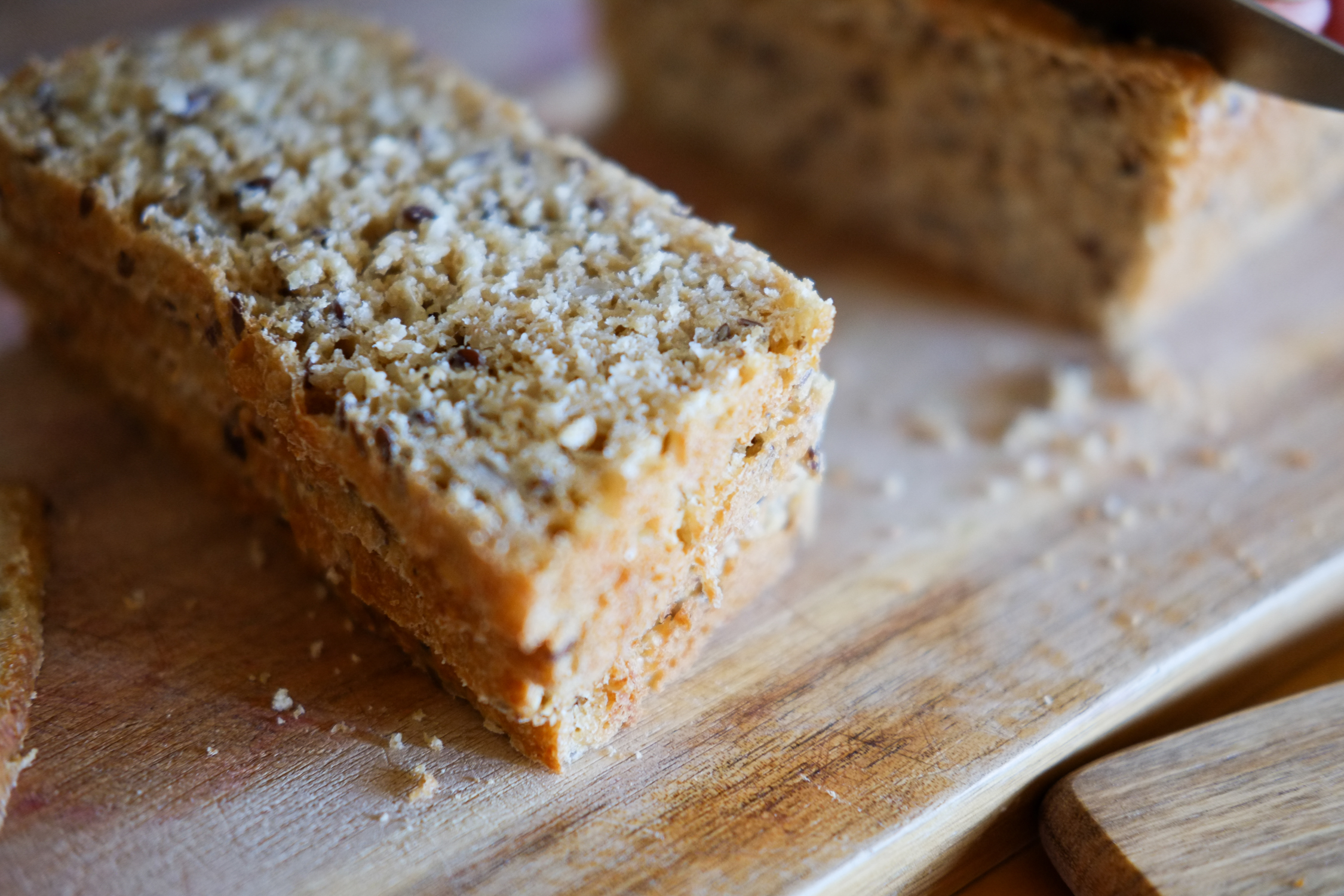 Carol's Homemade Oat & Seed Bread - a great way to start your day at Taigh Na Mara!