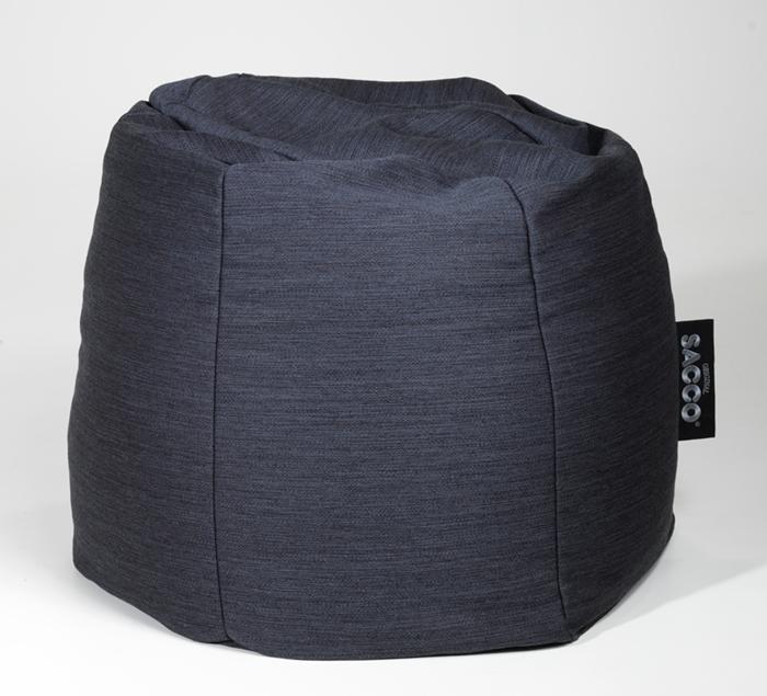 Saccosekk(Sacco of Norway AS) sydd itekstilet  Krus , et design i vår standardkolleksjon.