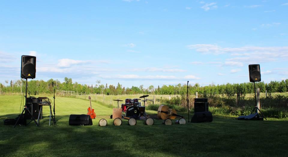 House Concert Setup
