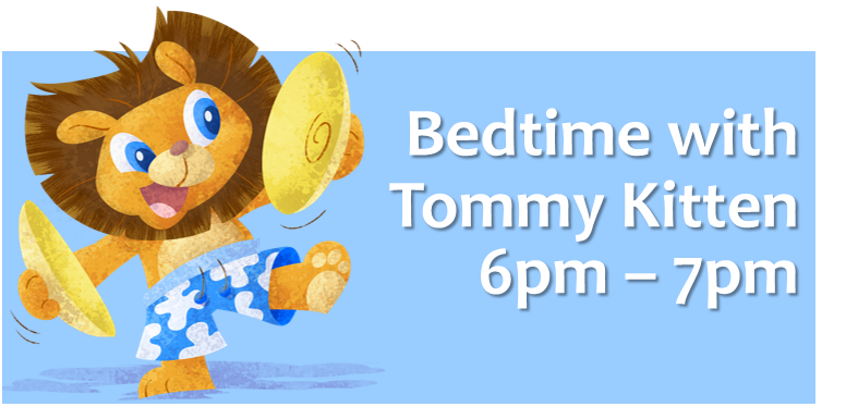 bedtime with tommy kitten on little rockers radio