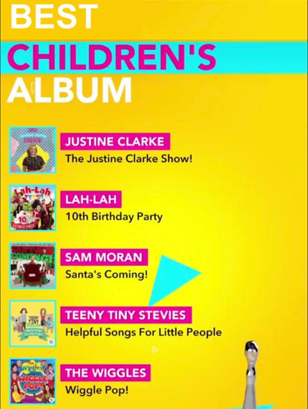 ARIA Best Children's Album Nominations 2018