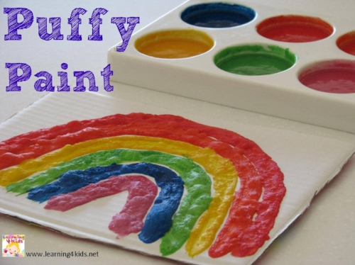 How to make Puffy Paint - Little Rockers Radio Craft Activities