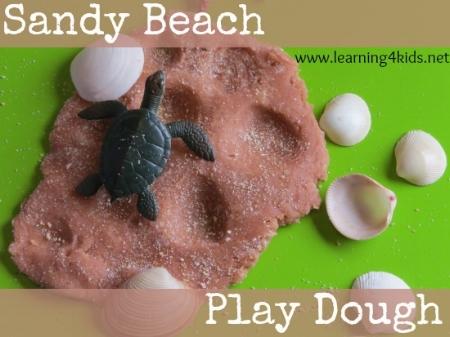 Kids Craft Activities - Sandy Play Dough - Little rockers radio
