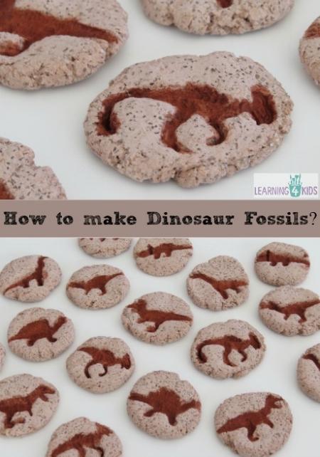 Kids Craft Activities - Make Dinosaur Fossils