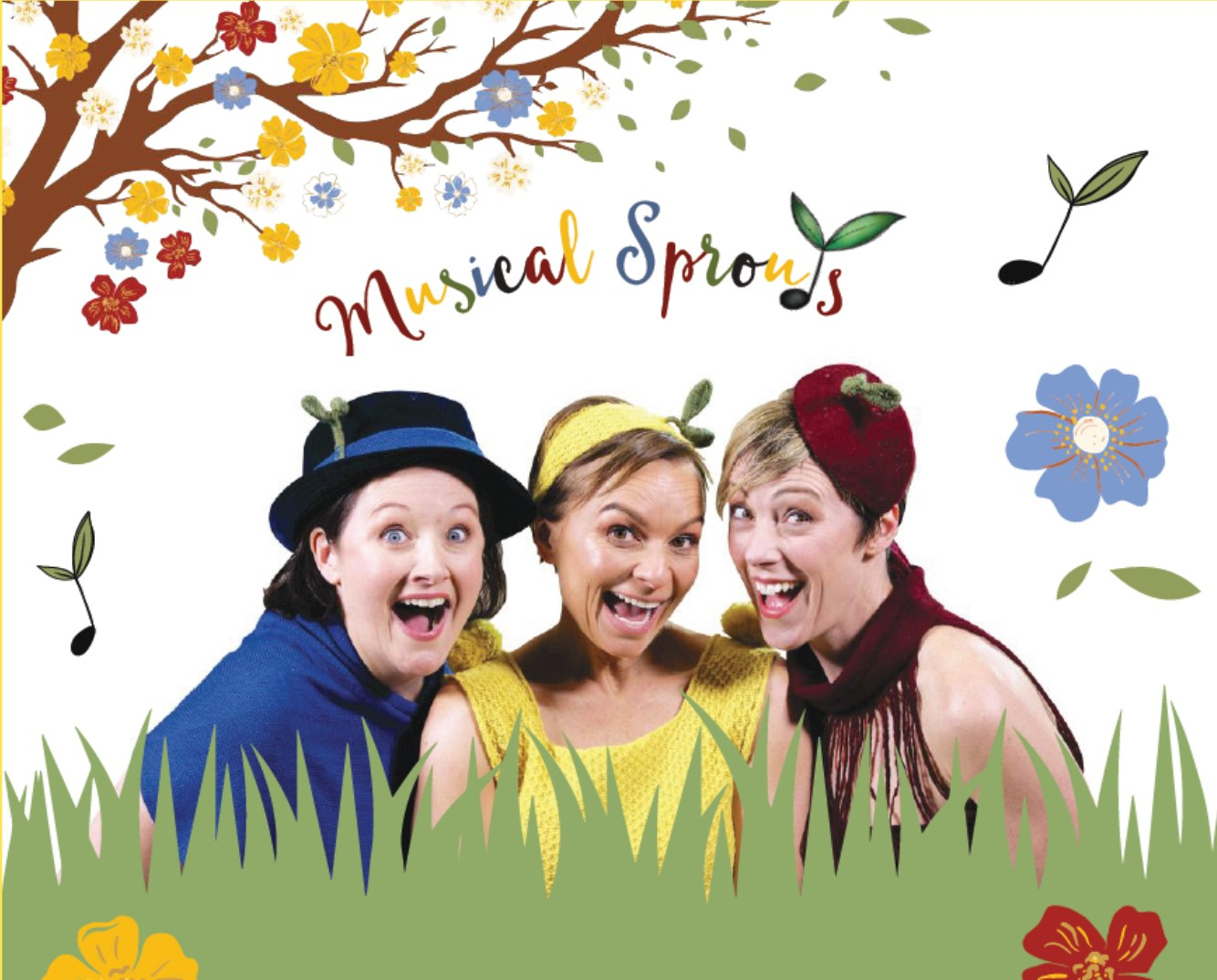 Musical Sprouts: A fresh, fun and interactive new children's theatre show is coming to Melbourne!
