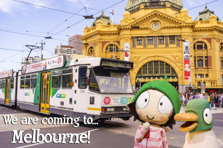 Sarah-and-Duck-in-Melbourne