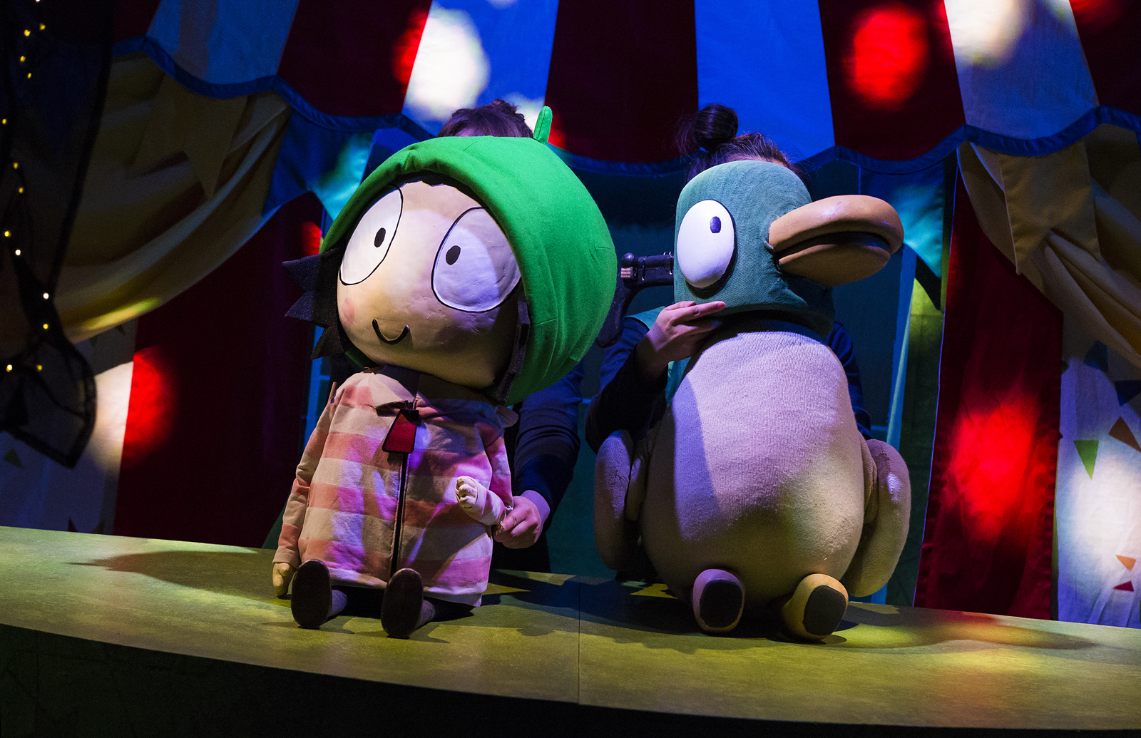 Sarah and Duck - ticket giveaway Little Rockers Radio