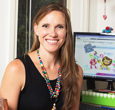 Host of The Rocking Motherhood Show, Sarah Morrissey