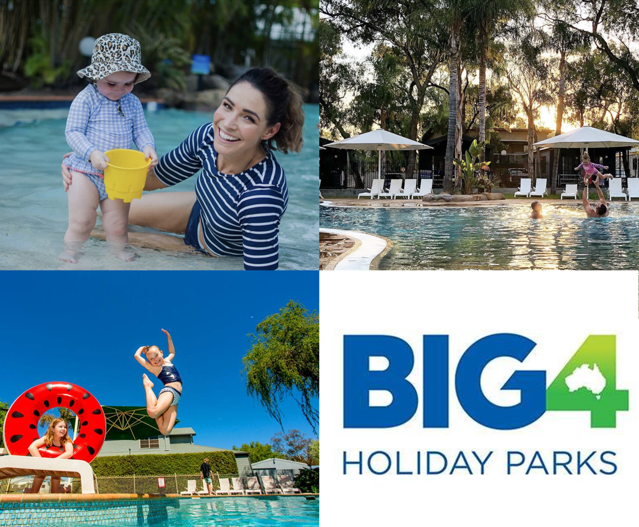 Win 2 nights accommodation with Little Rockers Radio and Big4