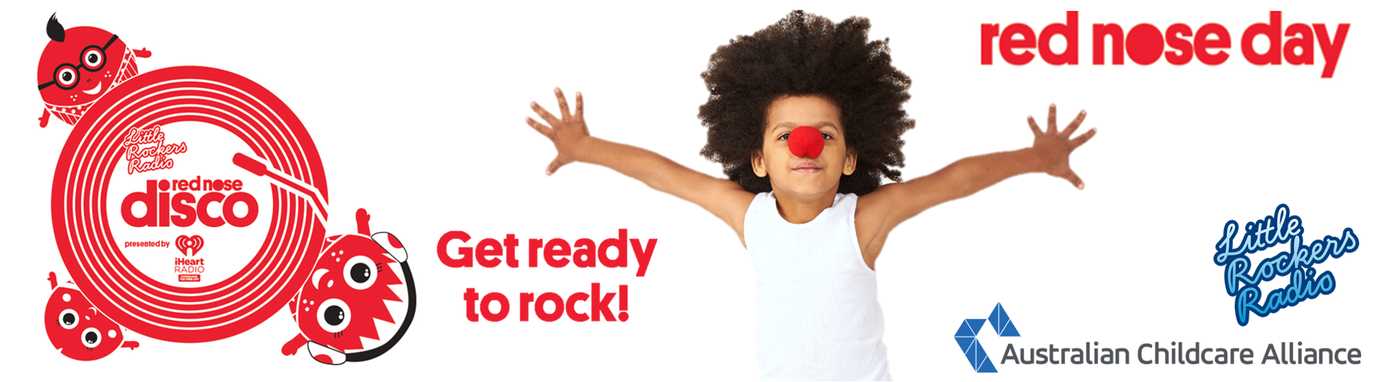 Australian Childcare Alliance supporting the Little Rockers Red Nose Disco
