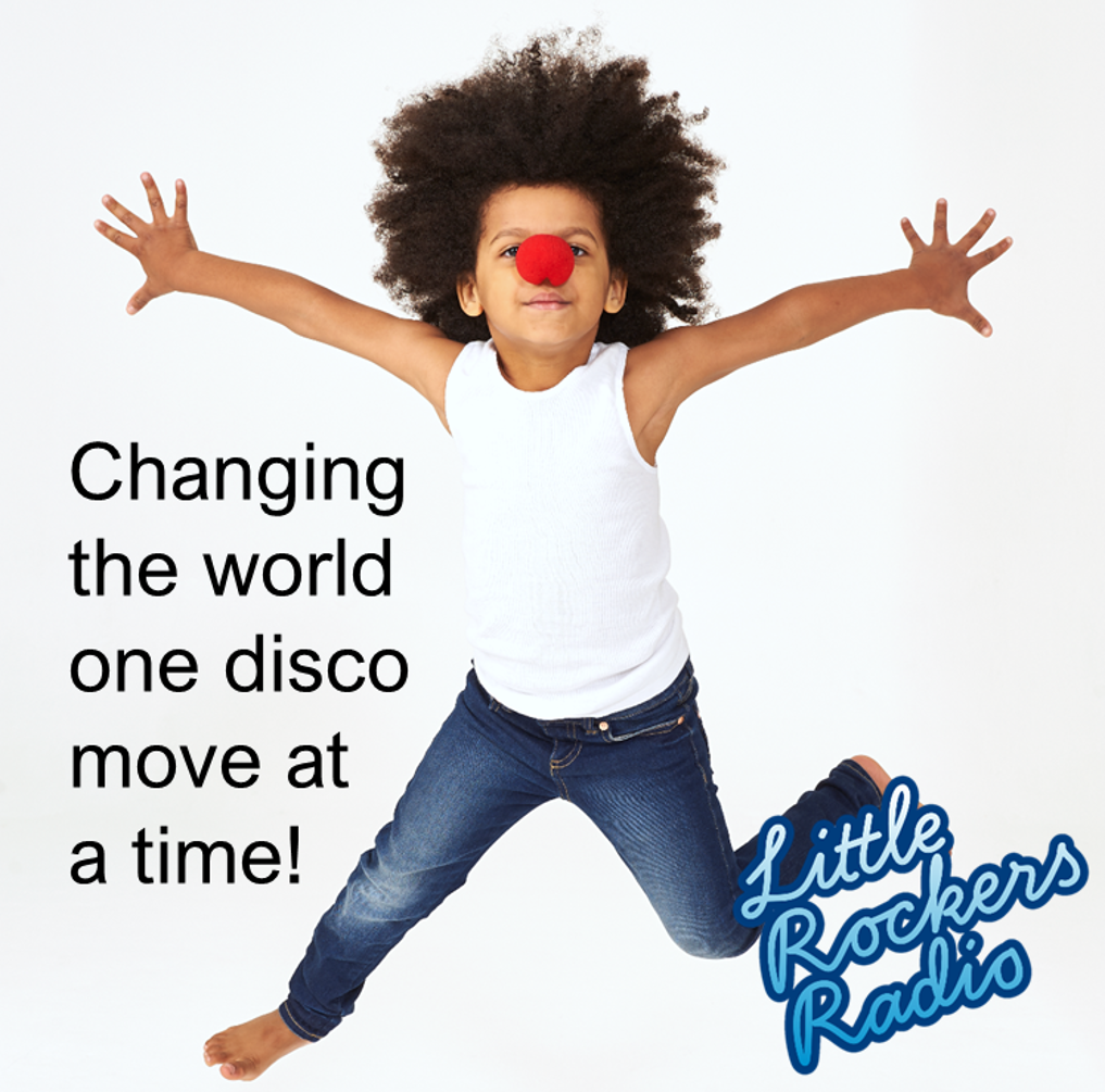 The Little Rockers Red Nose Disco 2019