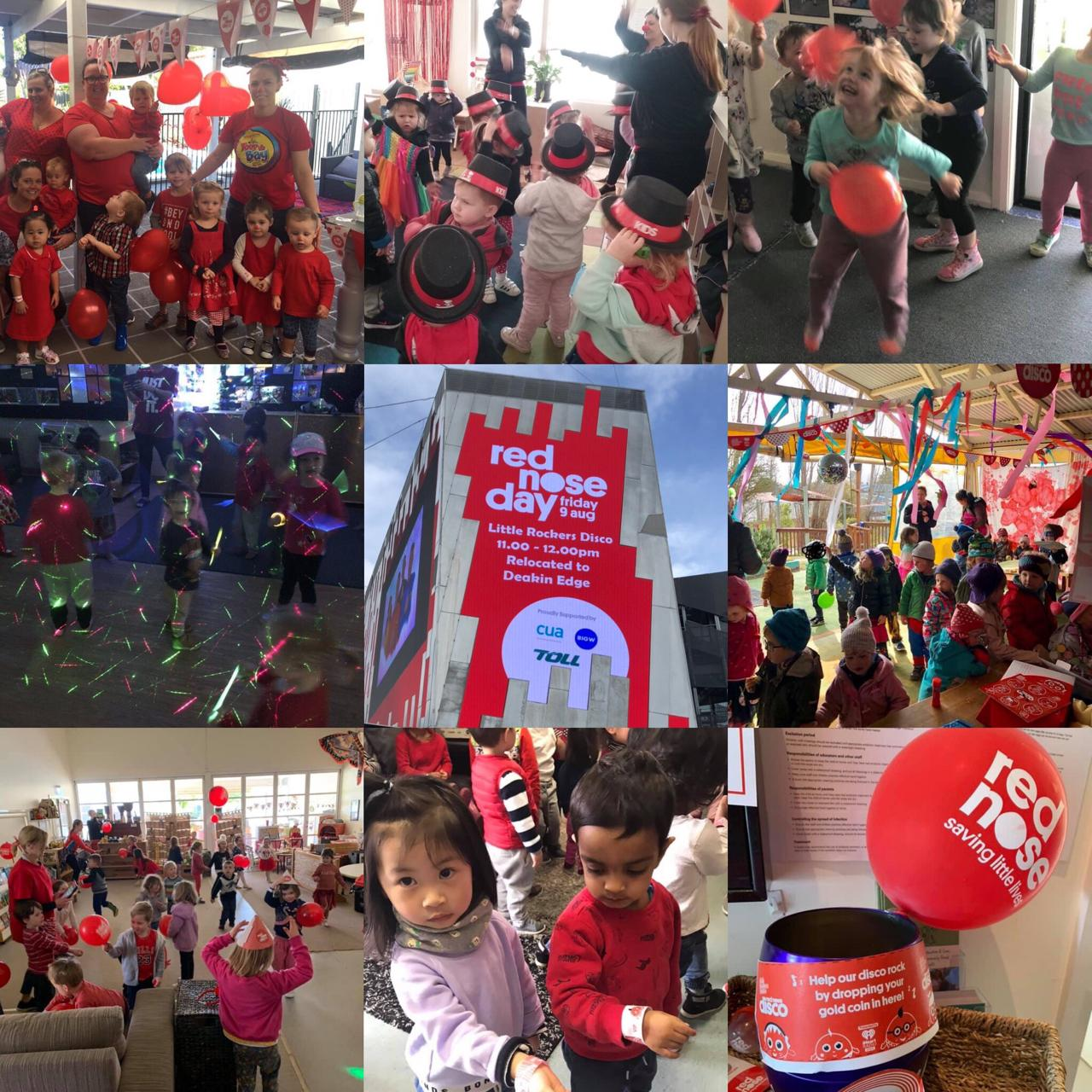The Kids danced and had fun at the 2019 Little Rockers Radio Red Nose Disco