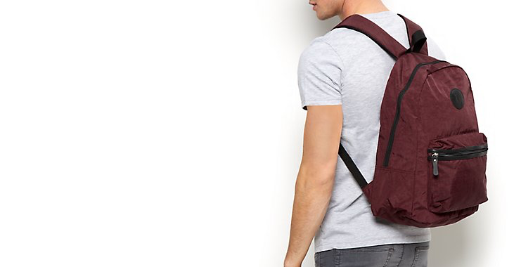 New Look Mens back pack | Sam Squire UK Male fashion & lifestyle blogger