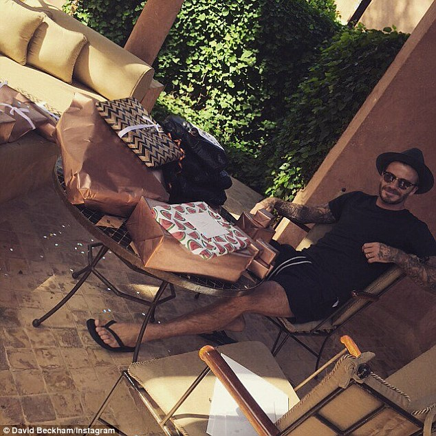 David Beckham 40 Marrakech | Sam Squire UK Male Fashion & Lifestyle Blogger