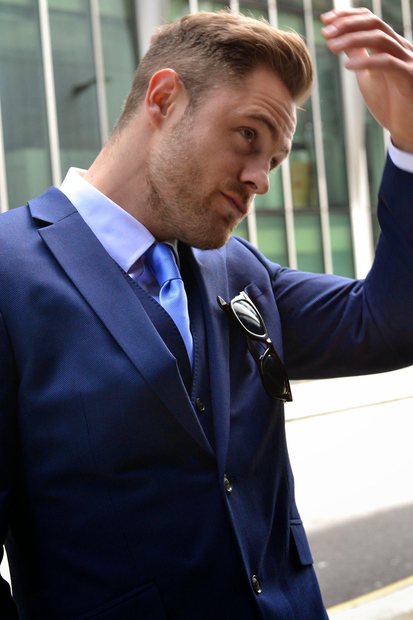Ben fromTwenty First Century Gentwears a super durable M&S suit