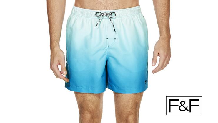 F&F Tesco Swim Shorts Mens | Sam Squire UK Male Fashion & Lifestyle Blogger