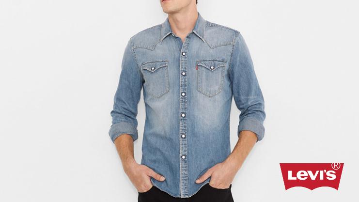 Levi Denim Shirt | Sam Squire UK Male Fashion Blogger