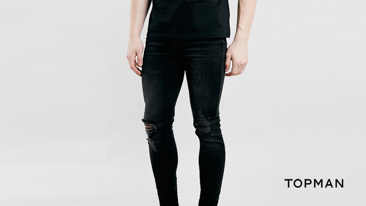 Topman Ripped Knee Jeans | Sam Squire UK Male Fashion & Lifestyle Blogger