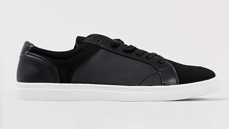 Topman Lindon Black Sneakers Trainers | Sam Squire UK Male Fashion & Lifestyle Blogger