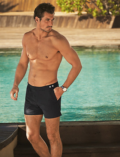 David Gandy Swim Shorts M&S   Sam Squire UK Male Fashion & Lifestyle Blogger