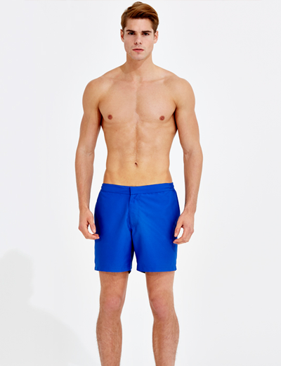 Blue Mint Mens tailored swim shorts | Sam Squire UK Male fashion & lifestyle blogger